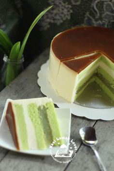 I would said this is the best cake recipe that i replicated . This cendol cake was inspired from a cafe i went recently for a brunch. I ...