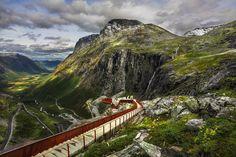 Trollstigen (Troll's Way) viewpoint | 11 Breathtaking Norwegian Roads That Are Begging To Be Traveled