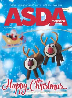 Asda Magazine - December 2014 by Asda - issuu Christmas 2014, Christmas Baking, Xmas, Christmas Ornaments, Christmas Recipes, Chocolate Roll, Happy Everything, Gift Suggestions, December 2014