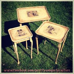 """""""#ascp #antique #anniesloan #chalkpaint #craqueleur #coffeetable #countrygrey #darkwax #distressed #distressedfurniture #etsy #forsale #frenchlinen #handpainted #instahome #loveit #morethanpaint #nestoftables #paintedfurniture #prettyuniquefurniture #rustic #refurbished #shabby #shabbychic #table #upcycled #vintage #victorian"""" Photo taken by @prettyuniquefurniture on Instagram, pinned via the InstaPin iOS App! http://www.instapinapp.com (04/18/2015)"""