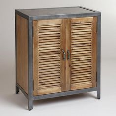 One of my favorite discoveries at WorldMarket.com: Single Shutter Doors Holbrook Sideboard
