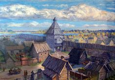 Early Medieval Settlement in Russia