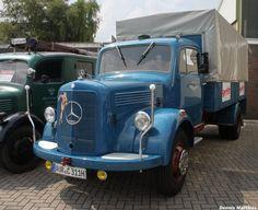 Classic Mercedes truck by Mechanicman.deviantart.com