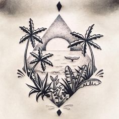 Close up :) Éric. #palmtrees #sunset #tattoo #violette #bleunoir #bleunoirtattoo #violettetattoo #geometrictattoo #dotwork #blackwork #blackworkerssubmission #blacktattoo #blacktattoomag #blacktattooart #btattooing #iblackwork #inkstinctsubmission #equilattera #darkartists