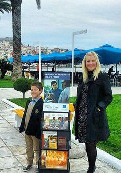 Greece - Public witnessing #literature_cart