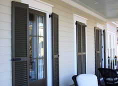Outdoor Shutters for your Home Exterior | Drapery Room Ideas