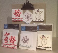 Gift tags with Adhesive back. 5/ package. $10