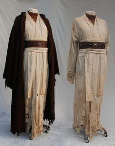 Desert Obi Wan inspired costume