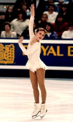 Tara Lipinski - the youngest World and Olympic Champion in history.