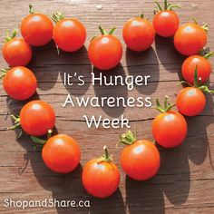 Hunger Awareness Week is May 5 - 11, 2014.