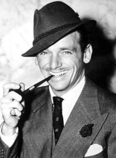 Douglas Fairbanks Jr.    When my dad was young there was a resemblance.