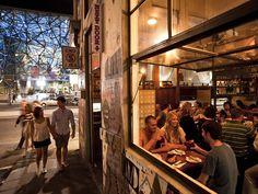 MoVida Next Door, Hosier Lane, Melbourne, Victoria, Australia Next Door, Beautiful Places To Visit, Places To Eat, The Neighbourhood, Fair Grounds, Street View, Melbourne Victoria, Victoria Australia, Vacation