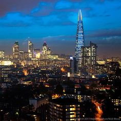 "Shard 2012 is billed as an online exhibition of ""future photography"", manipulating photos Wood took from different vantage points in the city to show how the iconic building will look in the context of London's skyline and how it might be captured on camera."