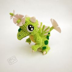 "Ravelry: Pollen Dragon (Dragon Vale) pattern by Ann of the ""Melody of Moonlight"""