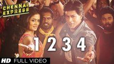 One Two Three Four Chennai Express Full Video Song   Shahrukh Khan, Deep...