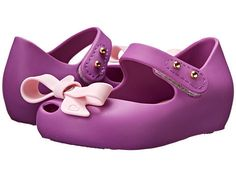 Mini Melissa Ultragirl Bow Shoes Violet Pink