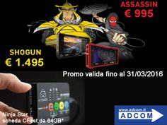 Dal 1° febbraio nuovi prezzi in casa Atomos! Info: https://www.adcom.it/news.php?lang=it&idliv1=5&idn=222
