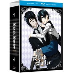 Black Butler Complete 2nd Season (Limited Edition, Blu-ray/DVD Combo) ($70) ❤ liked on Polyvore featuring dvds and other