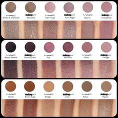 Makeup geek dupes for mac Mac Dupes, Mac Makeup Dupes, Mac Makeup Looks, Makeup Geek Eyeshadow, Makeup Swatches, Makeup Cosmetics, Eye Makeup, Mac Eyeshadow Swatches, Makeup Brushes