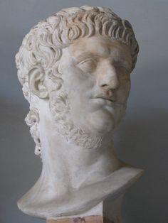 Προτομή του Νέρωνα στο Μουσείο του Καπιτωλίου, στη Ρώμη