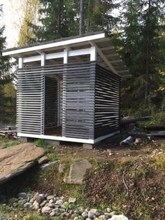 Project Life: Itse rakennettu puuvaja Project Life, Backyard, Patio, My Dream Home, Homesteading, Outdoor Living, Shed, Woodworking, Home Appliances