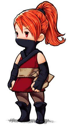Refia - Ninja from Final Fantasy III (DS)