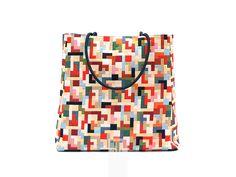 esclusiva borsa multicolor con manici in paracord di FMLdesign su DaWanda.com
