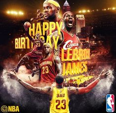 """""""Happy Birthday King James 🎉 Year 31 was incredible, let's make Year 32 an even better one. Happy Birthday King, 30th Birthday, Birthday Wishes, Sports Graphic Design, Sport Design, Cleveland Cavs, James Cleveland, Nike Inspiration, Nike Flyknit Racer"""