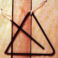 Metal Triangle Chime