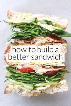 How to Build a Better Sandwich | foodiecrush.com