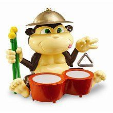 Learning Resources Smart Safari Congo Bongo Monkey by Learning Resources. $18.55. Manufacturer: Learning Resources. Requires 3 button-cell batteries, included. Product number: ler6204. Recommended Age: 3 yrs and up. Follow the beat, or march to your own!    Introduces percussion and inspires creativity with bongos, 2 drumsticks, cymbal and triangle.   Improves memory as kids push the monkey's tongue, then repeat series of sounds.   Features detachable bongos an...