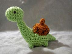 Sheldon the Dinosaur-Turtle-Snail - Free Amigurumi Pattern here: http://duchessgala.blogspot.de/2014/07/oh-sheldon.html