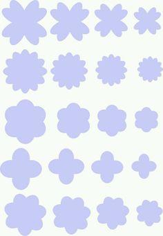 Backup of Molde do Dia: Flores Handmade Flowers, Diy Flowers, Fabric Flowers, Paper Flowers, Paper Butterflies, Felt Diy, Felt Crafts, Diy And Crafts, Paper Crafts