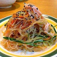 ちょっとピリ辛にしてみました☻ サッパリしてて美味しかったです♥️ - 34件のもぐもぐ - ゆこさんの料理 朝イチ春雨サラダ。 by mayutaku