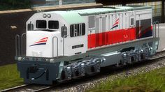 (C18MMi). G.E. Diesel electric  locomotive.  Built 2003 for Indonesia.