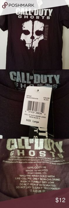 NWT COD tee call of duty ghost shirt brand new 100% cotton really comfortable. activision  Shirts Tees - Short Sleeve