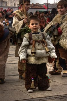 """Сурва"" 2009 - Перник    The traditional Kukeri celebrations at the Bulgarian town Pernik...  ""Сурва"" 2009 - Перник"