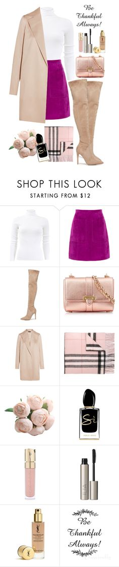 """#646"" by victoria2610 ❤ liked on Polyvore featuring Michael Kors, L.K.Bennett, Kendall + Kylie, Aspinal of London, The Row, Burberry, Giorgio Armani, Smith & Cult and Ilia"