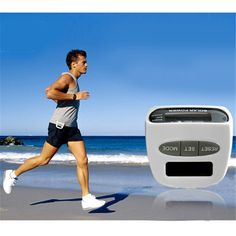 New Solar Energy Pedometer Electronic Sports Pedometer Multi-function Pedometer White Best Quality Hot Selling L0079 P12 0.5
