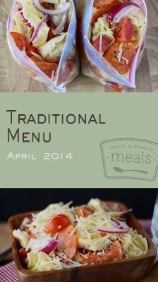 From easy on the go breakfasts to no fuss dinners our Traditional April 2014 Menu will help save time but keep you well fed.