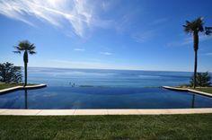 50 foot Infinity edged pool .. Malibu, California