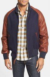 Golden Bear Classic Fit Raglan Sleeve Varsity Jacket