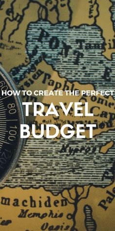 Looking to go away this summer? Here's how you can create THE PERFECT travel budget...http://theminimillionaire.com/travel/travel-budget/