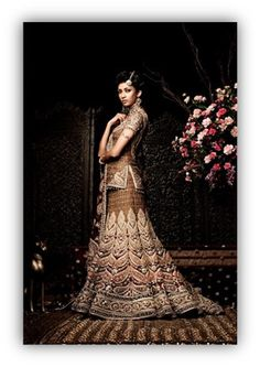 Indian bridal gown