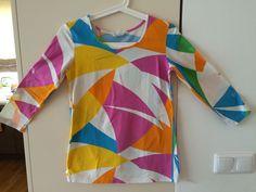 Marimekko Mika Piirainen Top Blouse Abstract Print Size M Made In Europe #Marimekko #Blouse #Casual