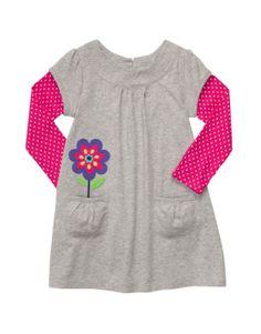 Carters Baby Girls Layered Knit Dress...