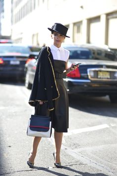 An Unknown Quantity | New York Fashion Street Style Blog by Wataru Bob Shimosato | ニューヨークストリートスナップ: #352 at Ralph Lauren 2013AW NYFW