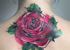 back of the neck lotus tattoo - Bing Images
