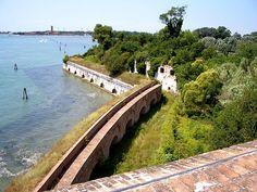 Learn Italian in Venice: 5 secret sights - Forte Sant'Andrea