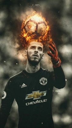 Manchester United goalkeeper, David De Gea is ready to commit his long-term future to the Red Devils unless he is handed wages of over Alexis Sanchez Manchester United, Manchester United Players, Messi Vs, Lionel Messi, Real Madrid, Manchester United Wallpaper, Goalkeeper Kits, Premier League Champions, Football Wallpaper